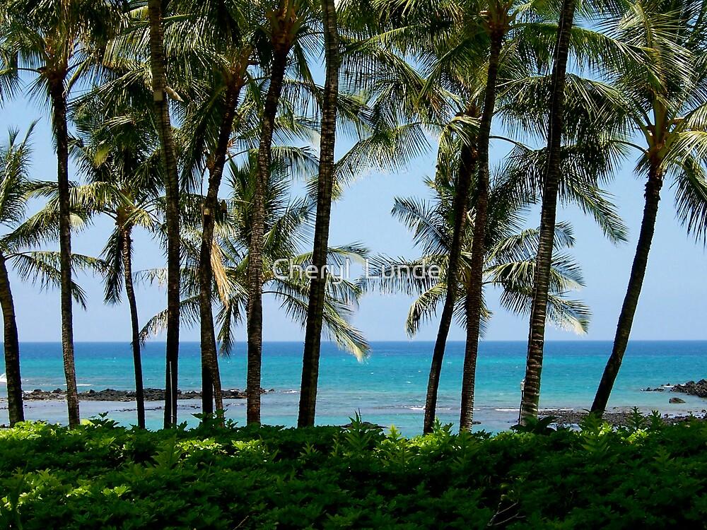 Tropical Island by Cheryl  Lunde