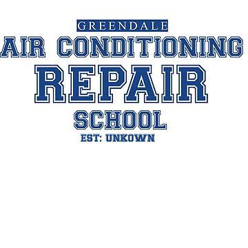 Greendale Community College Secret School by WHYSUCHASCENE