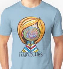 I LUV LOLLIES! Unisex T-Shirt