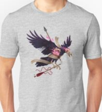 The Undead Crow - Magic Fire T-Shirt