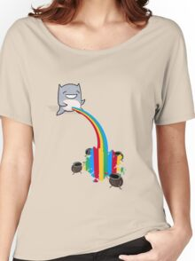 _Bonus Level_ Peebow VS Bugs Women's Relaxed Fit T-Shirt