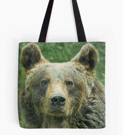 Eurasian Brown Bear Tote Bag