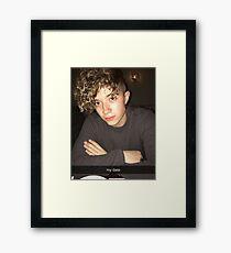 JACK AVERY looking fine Framed Print