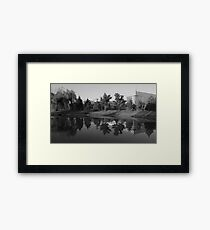A Perfect Reflection Framed Print