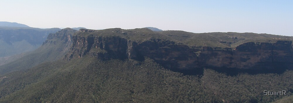 North from Govetts Leap by StuartR