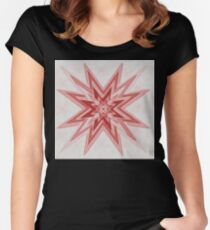 Starry Women's Fitted Scoop T-Shirt