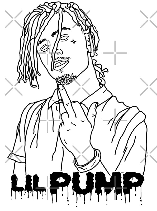 """lil pump coloring pages 