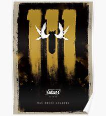 Fallout 4 Vault 111 Poster  Poster