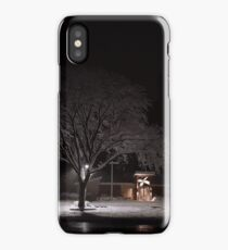 A Snowy Tree iPhone Case