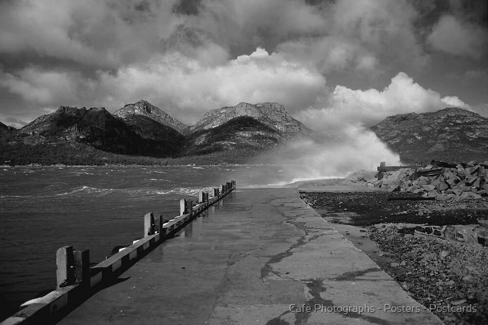 The Hazards, Freycinet Peninsula by Cafe Photographs - Posters - Postcards