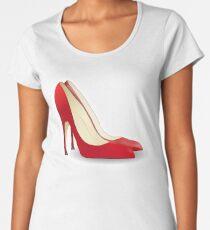 High Heels, Heels, Shoes, Pumps, Stilettos, Red Women's Premium T-Shirt