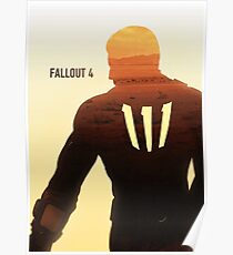 Fallout 4 Sole Survivor Digital Poster Poster