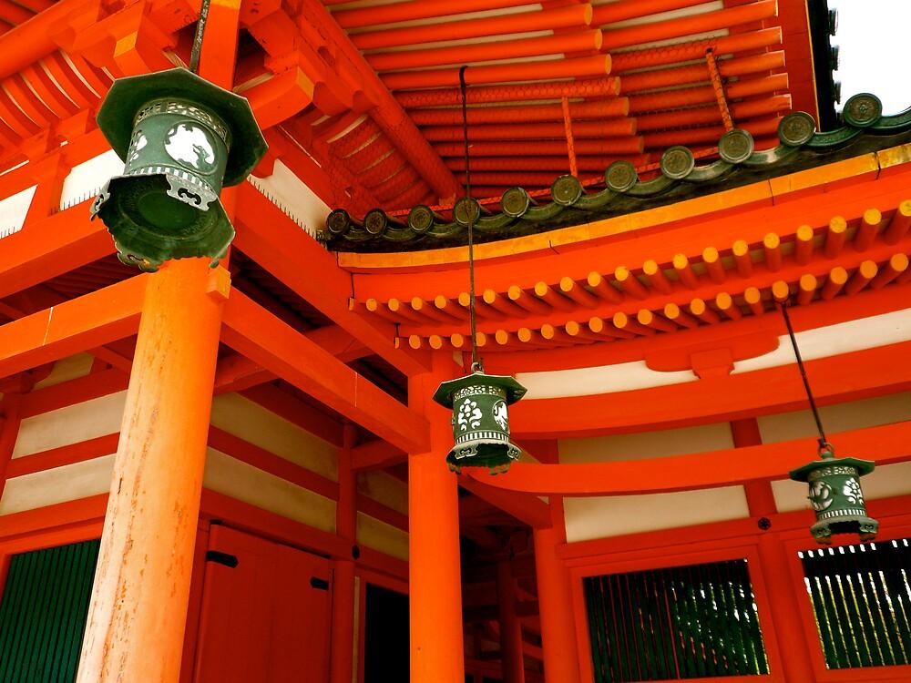 Heian Shrine, Kyoto by geikomaiko