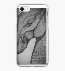 Eragon: Saphira pencil drawing iPhone Case/Skin