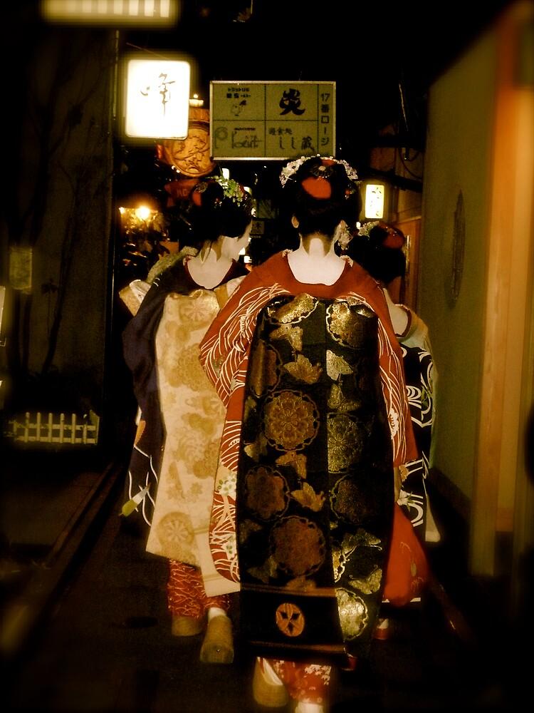 Ponto-cho, Gion by geikomaiko