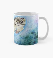 Turtle - mixed media Mug