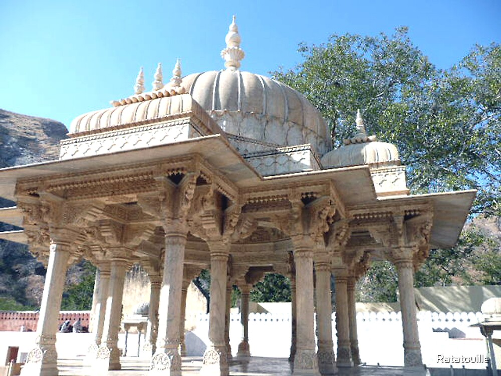Temple in Jaipur by Ratatouille