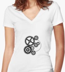 I am Gears Women's Fitted V-Neck T-Shirt