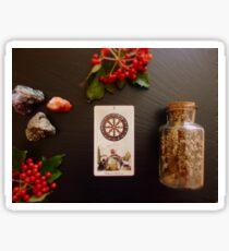 tarot ritual Sticker