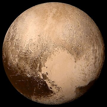 PLUTO, NEW HORIZONS, July 14, 2015, Planet, Space, Solar System by TOMSREDBUBBLE