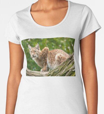 Lynx Women's Premium T-Shirt