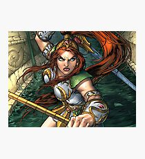 Teela Sword Photographic Print
