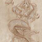 Mermaid's Treasure by dreampigment