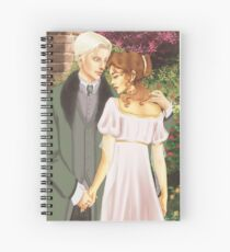 Dramione - Victorian Style Spiral Notebook