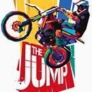 Motocross The Jump WPAP by toni-agustian