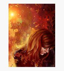 Amy's Autumn Photographic Print