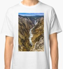 Lower Falls of Grand Canyon of Yellowstone Classic T-Shirt