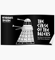 The Curse of the Daleks - theatre programme Poster