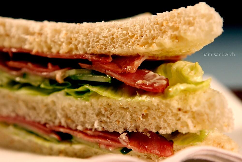 ham sandwich by jamie marcelo