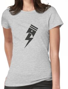 Bolt Piston Womens Fitted T-Shirt