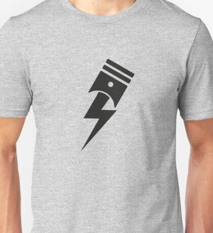 Bolt Piston Unisex T-Shirt