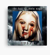 XVIII - THE FALL OF IDOLS SAGA [ G59 / Suicideboys ] Canvas Print