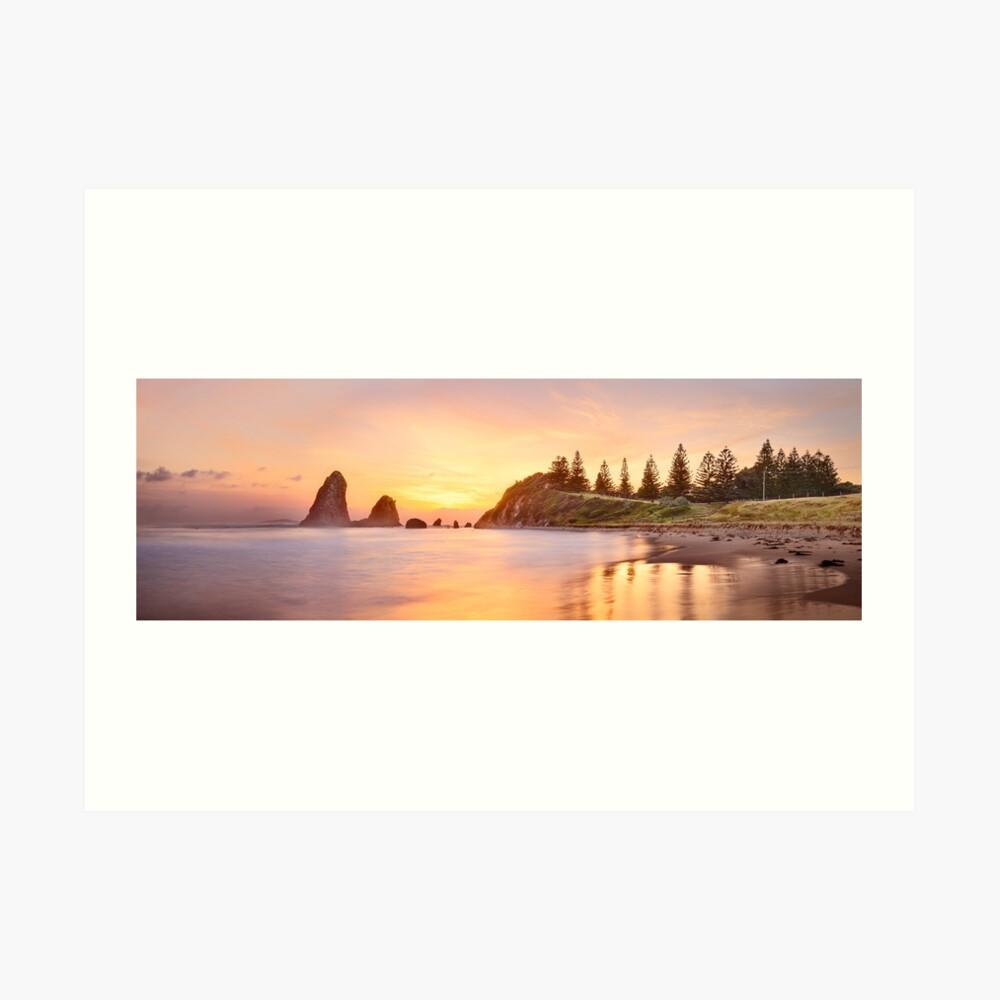 Glasshouse Rocks, Narooma, New South Wales, Australia Art Print