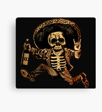Day of the Dead Posada Canvas Print