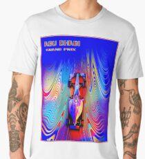 ABU DHABI : Abstract Grand Prix Auto Advertising Print Men's Premium T-Shirt