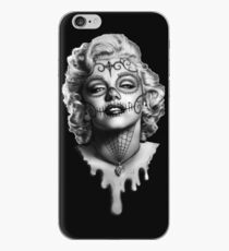 Marilyn Monroe Sugar Skull iPhone Case