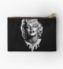 Marilyn Monroe Sugar Skull Studio Pouch