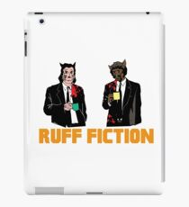 Ruff Fiction Movie Dog Parody iPad Case/Skin
