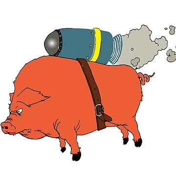The Orange Pig Jet pack by WeaponizedPigs