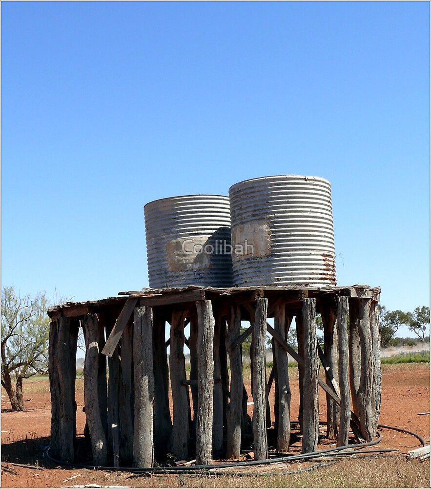 Old tanks by Ruth Anne  Stevens