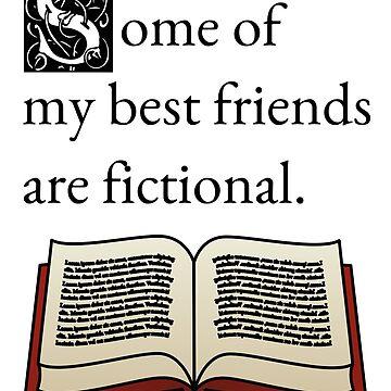 Fictional Friends by alberyjones