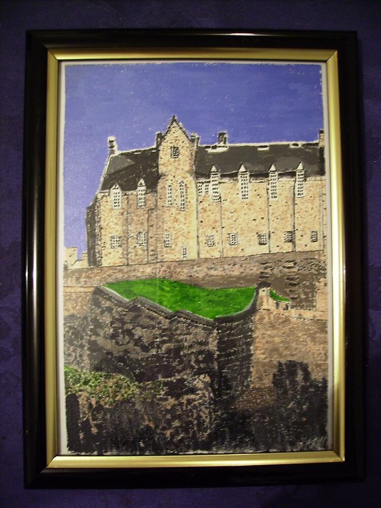 Edinburgh Castle by kerrymaree