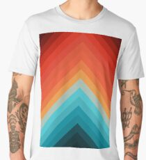 Blue and orange art II Men's Premium T-Shirt