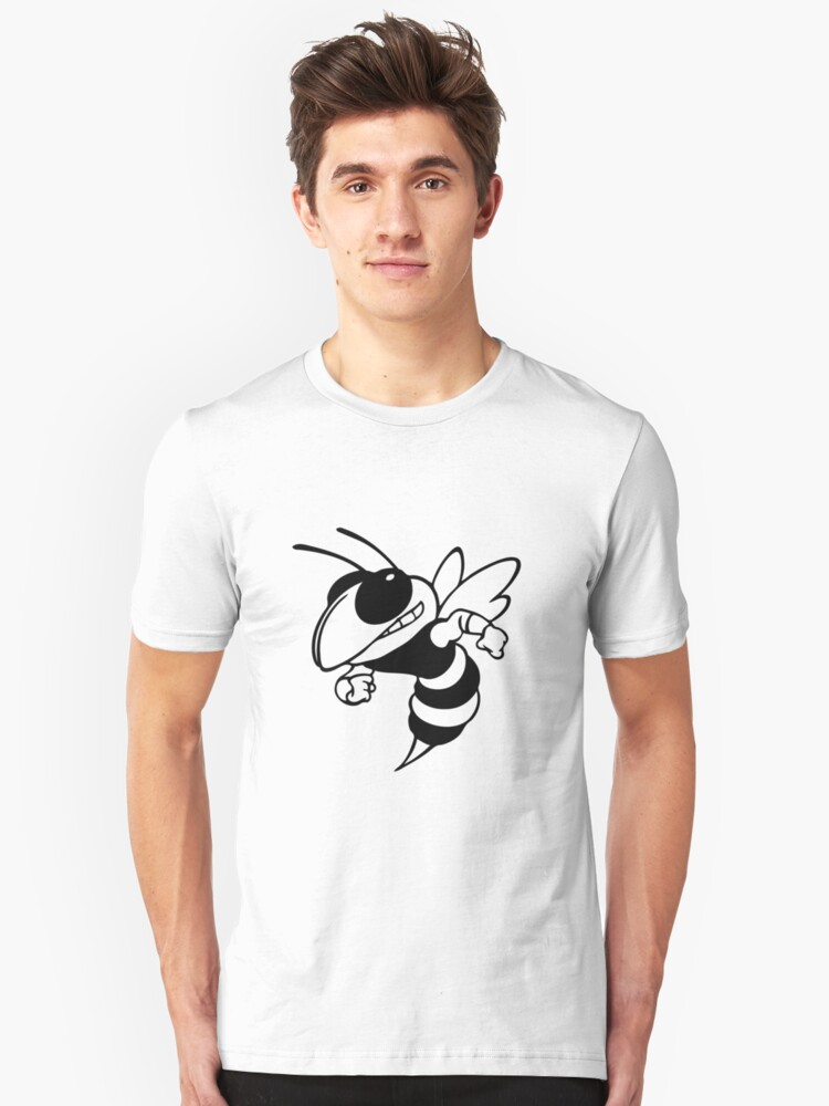 Angry Bee Unisex T-Shirt Front