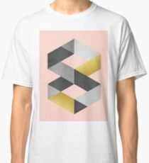 Gold and gray bands Classic T-Shirt
