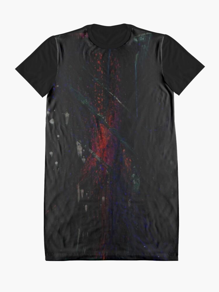 Alternative Ansicht von Transtract - 0107 - Inferno T-Shirt Kleid